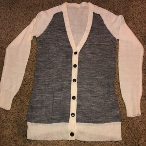 J. Crew Two-Toned Cardigan, Size M